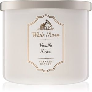 Bath & Body Works Vanilla Bean vonná svíčka 411 g
