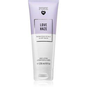 Victoria's Secret PINK Love Haze tělové mléko pro ženy 236 ml