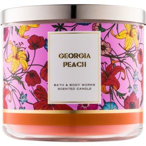 Bath & Body Works Georgia Peach vonná svíčka 411 g