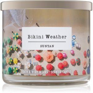 Bath & Body Works Suntan vonná svíčka 411 g Bikini Weather