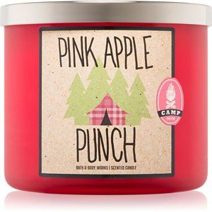 Bath & Body Works Pink Apple Punch vonná svíčka 411 g