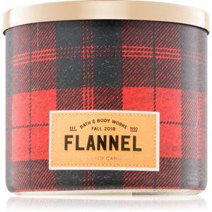 Bath & Body Works Flannel vonná svíčka I.
