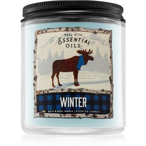 Bath & Body Works Winter vonná svíčka 198 g I.