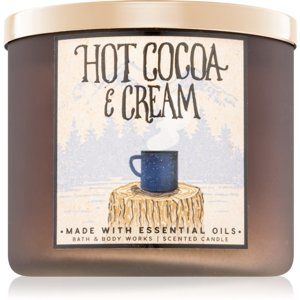 Bath & Body Works Hot Cocoa & Cream vonná svíčka 411 g II.