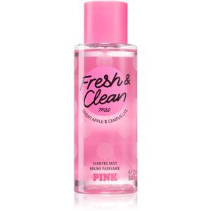 Victoria's Secret PINK Fresh & Clean parfémovaný tělový sprej pro ženy 250 ml