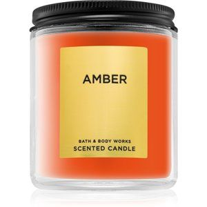 Bath & Body Works Amber vonná svíčka 198 g