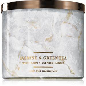 Bath & Body Works Jasmine & Green Tea vonná svíčka