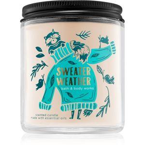 Bath & Body Works Sweater Weather vonná svíčka I. 198 g