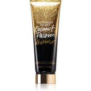 Victoria's Secret Coconut Passion Shimmer tělové mléko pro ženy 236 ml