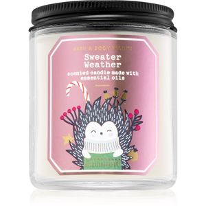 Bath & Body Works Sweater Weather vonná svíčka III. 198 g