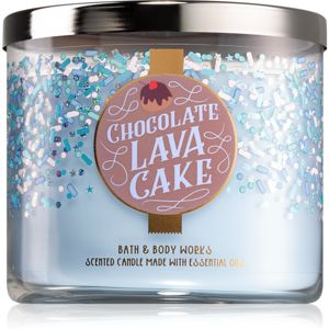 Bath & Body Works Chocolate Lava Cake vonná svíčka 411 g