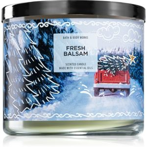 Bath & Body Works Fresh Balsam vonná svíčka V. 411 g