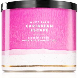 Bath & Body Works Caribbean Escape vonná svíčka 411 g
