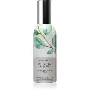 Bath & Body Works White Tea & Sage bytový sprej 42,5 g