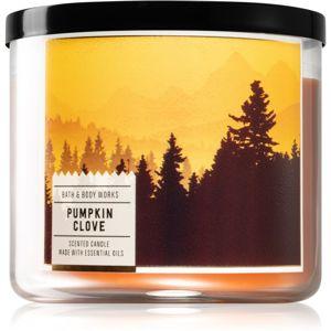 Bath & Body Works Pumpkin Clove vonná svíčka 411 g