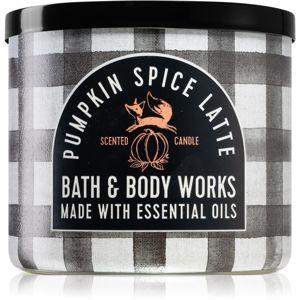 Bath & Body Works Pumpkin Spice Latte vonná svíčka I. 411 g