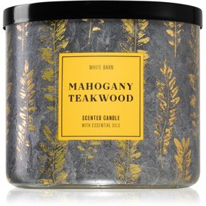 Bath & Body Works Mahogany Teakwood vonná svíčka II. 411 g