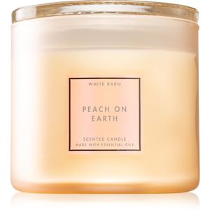 Bath & Body Works Peach On Earth vonná svíčka 411 g