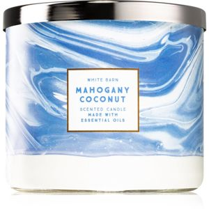 Bath & Body Works Mahogany Coconut vonná svíčka I. 411 g