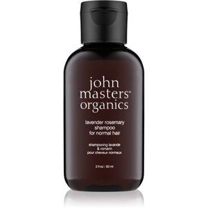 John Masters Organics Lavender Rosemary šampon pro normální vlasy 60 ml