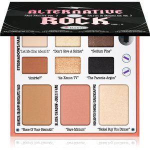 theBalm Alternative Rock Volume 2 multifunkční paleta