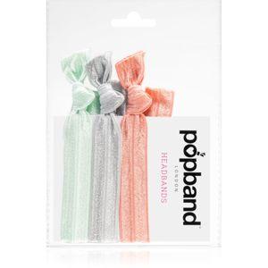 Popband Headbands multifunkční čelenka do vlasů Pastel 3 ks