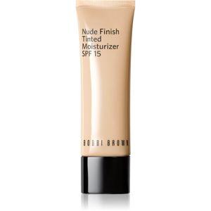 Bobbi Brown Nude Finish Tinted Moisturzier lehký hydratační make-up SPF 15 odstín EXTRA LIGHT TINT 50 ml