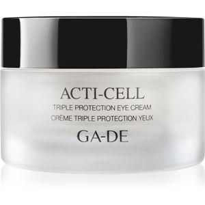 GA-DE Acti-Cell krém s trojím účinkem na oční okolí 15 ml