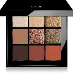 GA-DE Velveteen paletka očních stínů odstín 49 The Spice Rack 8,1 g