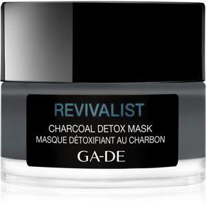 GA-DE Revivalist čisticí a detoxikační maska s aktivním uhlím 50 ml