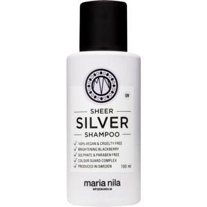 Maria Nila Sheer Silver šampon neutralizující žluté tóny
