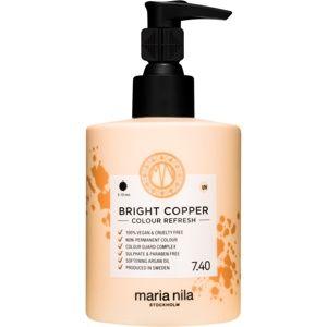 Maria Nila Colour Refresh Bright Copper jemná vyživující maska bez per