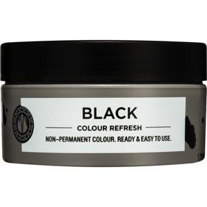 Maria Nila Colour Refresh Black jemná vyživující maska bez permanentní