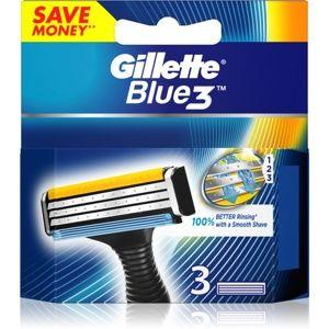 Gillette Blue 3 náhradní břity 3 ks