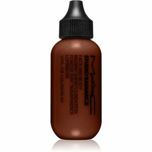 MAC Cosmetics Studio Radiance Face and Body Radiant Sheer Foundation lehký make-up na obličej a tělo odstín W8 50 ml
