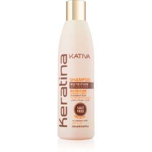 Kativa Keratina vyživující šampon pro lesk a hebkost vlasů