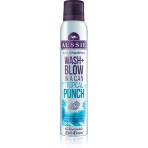Aussie Wash+ Blow Tropical Punch suchý šampon
