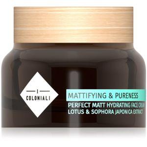 I Coloniali Mattifying & Pureness matující krém s hydratačním účinkem pro normální až smíšenou pleť 50 ml