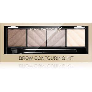 Max Factor Brow Contouring Kit konturovací paletka na obočí 1,8 g