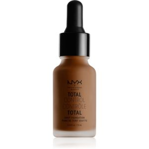 NYX Professional Makeup Total Control Drop Foundation make-up odstín 23 Chestnut 13 ml