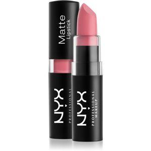 NYX Professional Makeup Matte Lipstick klasická matná rtěnka odstín 15 Whipped Caviar 4,5 g