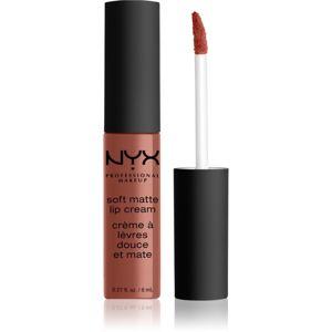 NYX Professional Makeup Soft Matte Lip Cream lehká tekutá matná rtěnka odstín 58 San Francisco 8 ml