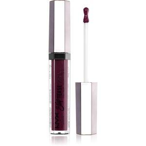 NYX Professional Makeup Slip Tease vysoce pigmentovaný lak na rty odstín 16 Last Frontier 3 ml