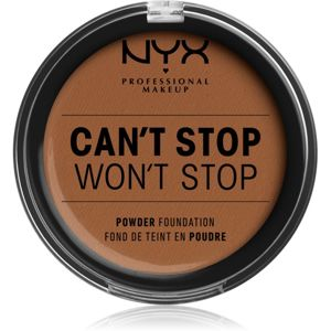 NYX Professional Makeup Can't Stop Won't Stop pudrový make-up odstín 17 Cappuccino 10,7 g