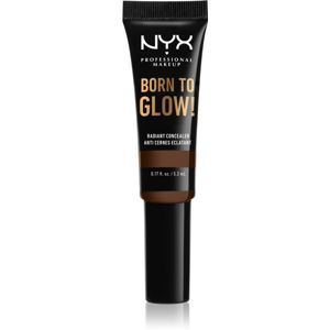 NYX Professional Makeup Born To Glow rozjasňující korektor odstín Deep 5,3 ml