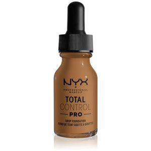 NYX Professional Makeup Total Control Pro Drop Foundation make-up odstín 16.5 - Nutmeg 13 ml