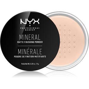NYX Professional Makeup Mineral Finishing Powder minerální pudr odstín Medium/Dark 8 g