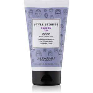 Alfaparf Milano Style Stories The Range Gel gel na vlasy s ledovým efe