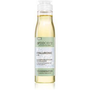 Arcocere After Wax Hyaluronic Acid zklidňující čisticí olej po epilaci 150 ml