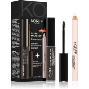 Korff Cure Makeup set na obočí odstín 01 Dark brown